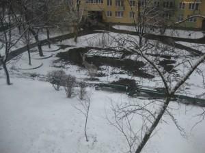 Biały piasek? Nie!!! to śnieg :)